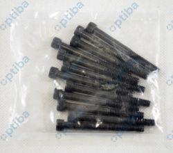 """Śruba ANSI B18.3 S.1960 DIN 912 1/4""""UNC(20)x2,1/2"""" ASTM A574 kl.12.9"""