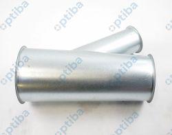Trójnik z blachy galwanizowanej 30° 150x125x80 0,9mm L=350mm ISOWENT