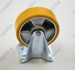 Zestaw kołowy stały aluminiowy fi 125mm 300kg poliuretan