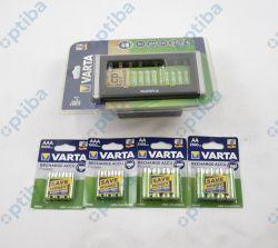 Ładowarka LCD MULTI CHARGER 57671 w komplecie z 8 akumulatorami R6/AA i 8 akumulatorami R3/AAA