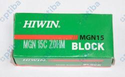 Wózek liniowy miniaturowy wąski MGN15C Z0HM HIWIN