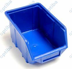 Pojemnik plastikowy szufladka 160x250x129 średni niebieski 35531N