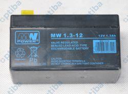 Akumulator żelowy MPL MWS 12V 1.3Ah