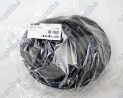Wężyk ochronny spiralny czarny WSN 10/S 10m E01WS-01010200400