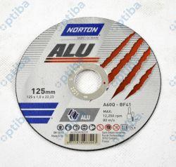 Tarcza do cięcia aluminium T41 125x1x22,23mm 66252828237