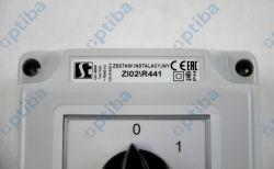 Łącznik ZI02/R441 z gniazdem 0-1 32A/5