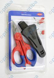 Nożyce z drobnym uzebieniem 9505155 SB