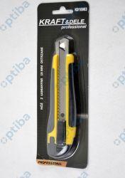 Nóż z łamaym ostrzem KD10963 18mm 8 segmentów