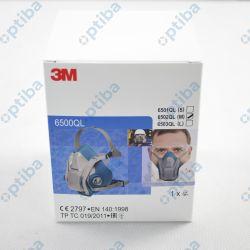 Półmaska wielokrotnego użytku 6502QL z opcją Quick Latch r.M 70071668142