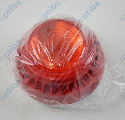 Sygnalizator akustyczno-optyczny SA-K7 16-32,5V DC 100dB IP21C czerwony