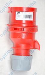 Wtyczka przenośna SHARK 16A 5P 400V IP44 czerwona 015-6 PCE