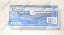 Zestaw końcówek i konektorów kablowych G02815 685 szt. GEKO
