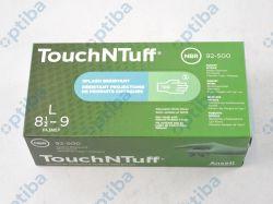 Rękawice nitrylowe TouchNTuff 92-500 r.L 92500090 100szt.