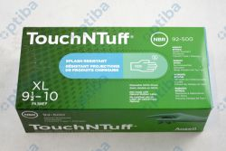 Rękawice nitrylowe TouchNTuff 92-500 r.XL 92500100 100szt.