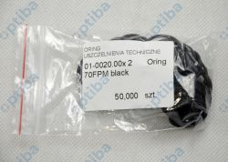 Oring 20x2 FPM 70 czarny