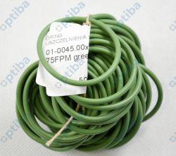 Oring 45x3,5 FPM 75 zielony