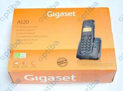 Telefon bezprzewodowy Gigaset AL-120/A120 czarny 605802