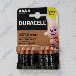 Bateria MN2400 LR03/AAA 6szt.