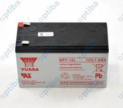 Akumulator kwasowo-ołowiowy NP7-12L 7,2Ah 12V AGM