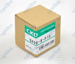 Manometr G49D-8-P10