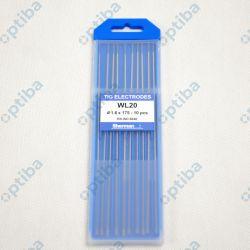 Elektroda wolframowa TIG WL20 1.6x175mm niebieska