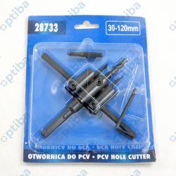 Wykrojnik przesuwny nastawny 28733 30-120mm