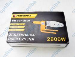 Zestaw zgrzewarki z 7 matrycami i osprzętem PM-ZGP-2800 230V/50Hz 2800W