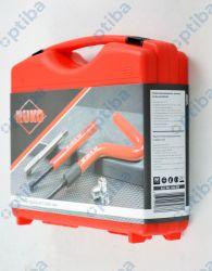 Zestaw 45 narzędzi do naprawy gwintów w walizce 244208