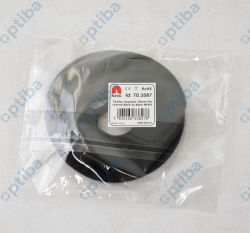 Taśma rzepowa 70.3587 10mm czarna