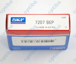 Łożysko kulkowe skośne 7207 BEP SKF