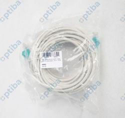 Kabel patchcord U/UTP 5e CCA 10m 68862