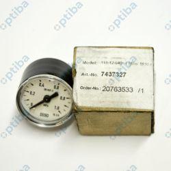 Manometr z rurką Bourdona 111.12.040 1MPa M10X1 WIKA