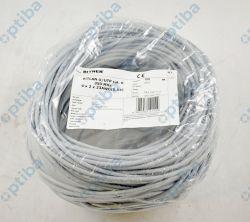 Kabel teleinformatyczny BiTLAN U/UTP kat.6 4x2x0,54 TI0044 klasa Eca 100m