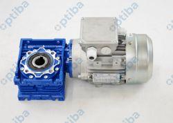 Motoreduktor NMRV050 20,0 105 14 25 U MV z silnikiem TMS71B4 B14 0,37kW 1370obr 230/400V 50Hz PTC