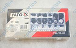 Zestaw 300 pierścieni segera wewnętrznych YT-06881 rozmiary 3-32mm
