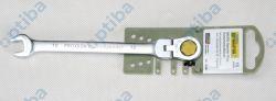 Klucz płasko-oczkowy 23047 MicroSpeeder z przegubem 10mm