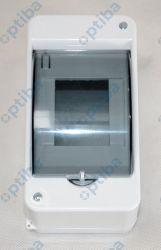 Rozdzielnica modułowa natynkowa S-3 1x3 N+PE drzwi dymne C.2061 PAWBOL