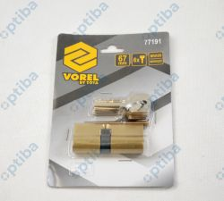 Wkładka mosiężna 77191 67mm 6-kluczy 31/36