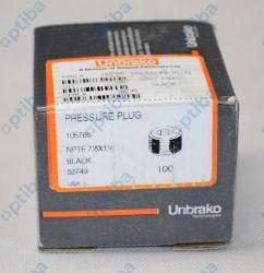 Zatyczka ciśnieniowa 7/8 NPTF 1/4X18 105766 UNBRAKO