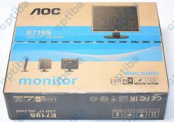 "Monitor 17"" LED 5ms DVI głośniki E719SDA"