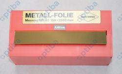Folia metalowa MS 63 150x2500x0.200mm EDE 8244960200
