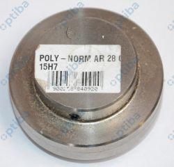 Piasta sprzęgła kłowego POLY-NORM AR 28 GG L=50 15H7 KTR