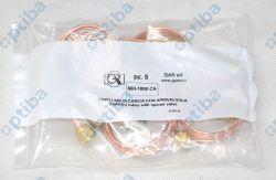 Łącznik ciśnieniowy 1000 CA z popychaczem z dwoma nakrętkami 1/4' o długości 1m 600-1000 CA GAR
