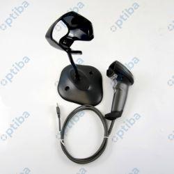 Czytnik kodów kreskowych DS2208 2D z podstawką, kabel USB, DS2208-SR7U2100SGW czarny