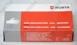 Zestaw 50 par rękawic 089947002 r.L lakierniczych jednorazowych nitrylowych