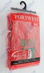 Kombinezon roboczy FR21 210g r.S z logo BOA FR21/S czerwony