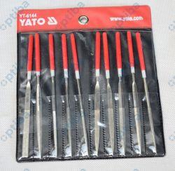 Zestaw 10 pilników diamentowych YT-6144 3x140x50mm