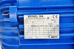 Silnik elektryczny prądu zmiennego SH80-4BHPS 0.75kW 3,5/2,0 A IP45 BESEL