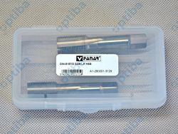 """Zestaw 2 gwintowników ręcznych lewych NGRA/2 G3/8"""" DIN-5157 LH A1-260001-3129 2 szt."""