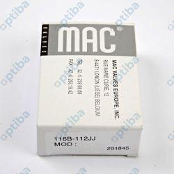 Zawór sterujący 116B-112JJ 3/2-U G1/8' 110VAC MAC